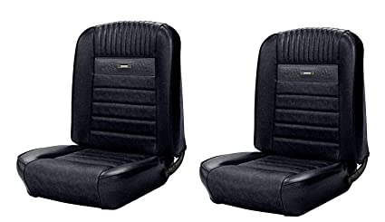 Amazon Com Deluxe Pony Front Bucket Seat Upholstery For 1964 To