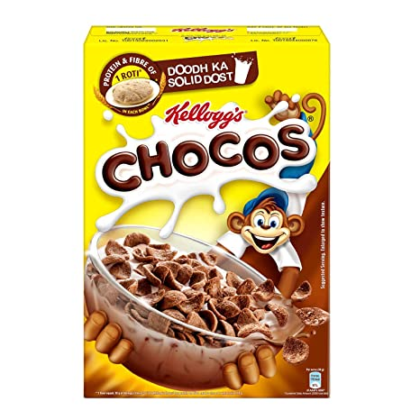 Kellogg's Chocos | High in Protein, B Vitamins, Calcium and Iron | 700gms Pack