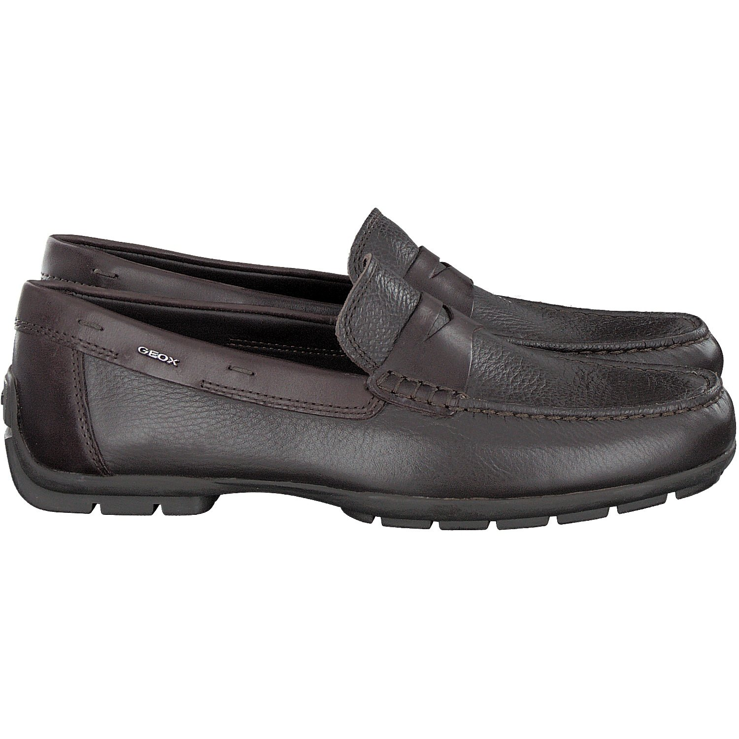 Amazon.com | Geox U Monet W 2FIT D Mens Leather Moccasins Shoes | Loafers & Slip-Ons