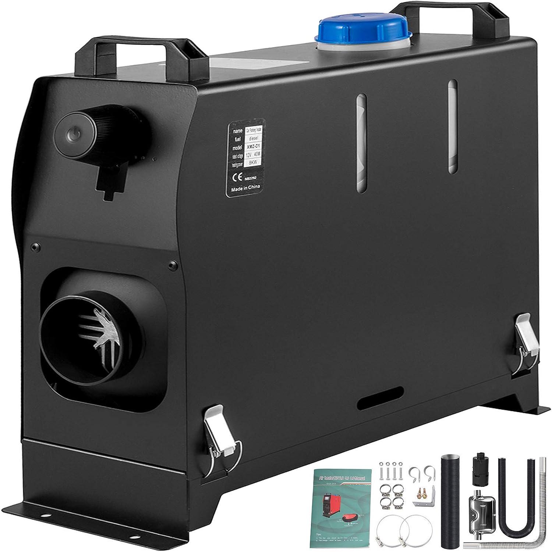 VEVOR Calentador de Aire Diesel 8 kW Calefacción Estacionaria 12 V Diesel Portátil Calentador de Estacionamiento Diesel Calefacción Estática Furgoneta Diesel Calentador Coche Temperatura -40 - +80 °C