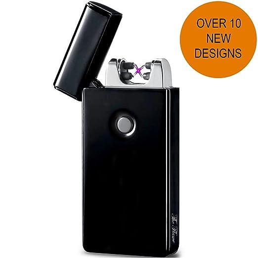 96 opinioni per Accendino Elettrico a Doppio Arco USB -The Flame- Ricarica Veloce, Antivento