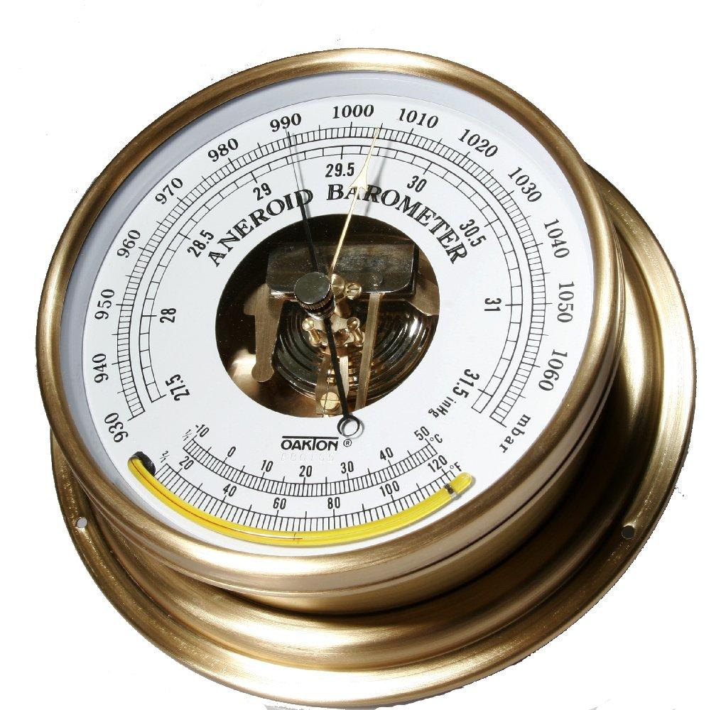 Oakton Anaroid Barometer, 930 to 1070 mbar, 27.5'' to 31.6'' Hg