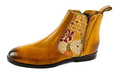 b3a72bfe09fd99 Melvin   Hamilton Damen Susan 34 Chelsea Boots Gelb Ocker Gr. 37 ...
