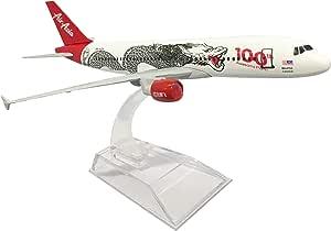 1:400 16cm Boeing B787 AIR ASIA DRAGON Metal Airplane Model Plane Toy Plane Mod