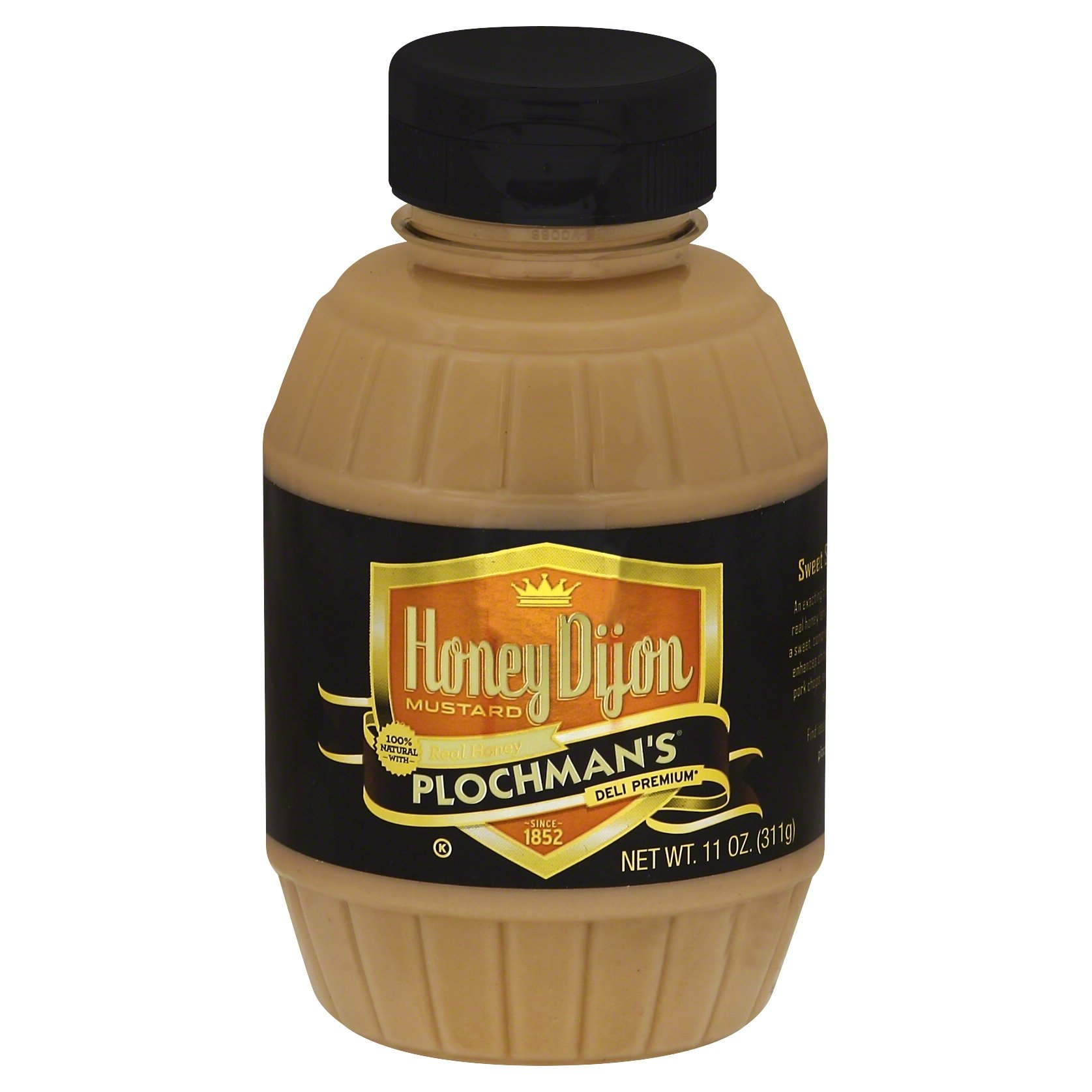 Plochman's Honey Dijon Mustard, 11 Ounce (Pack of 6)