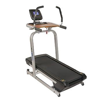 Sunny Health & Fitness Asuna escritorio de estación de trabajo con ...