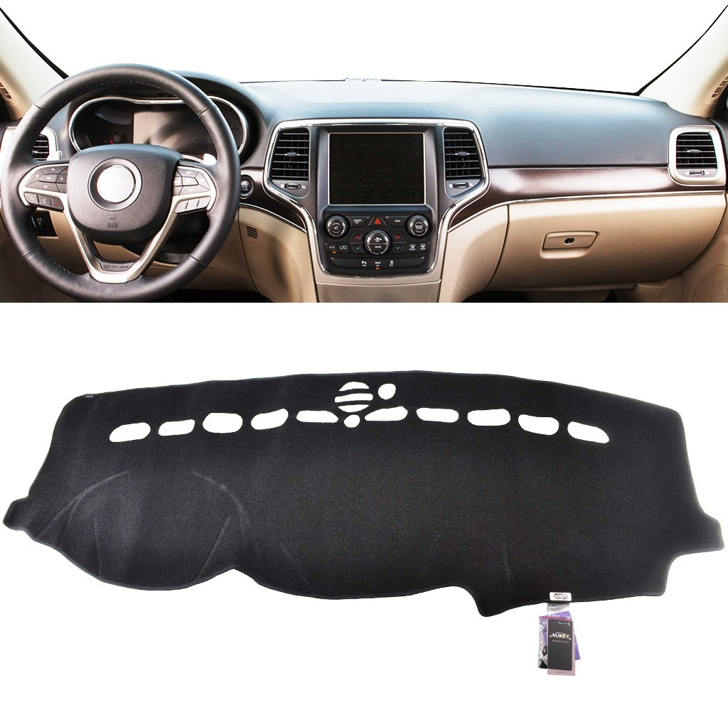 XUKEY Dashboard Cover for Jeep Grand Cherokee 2011-2018 Dash Cover Mat