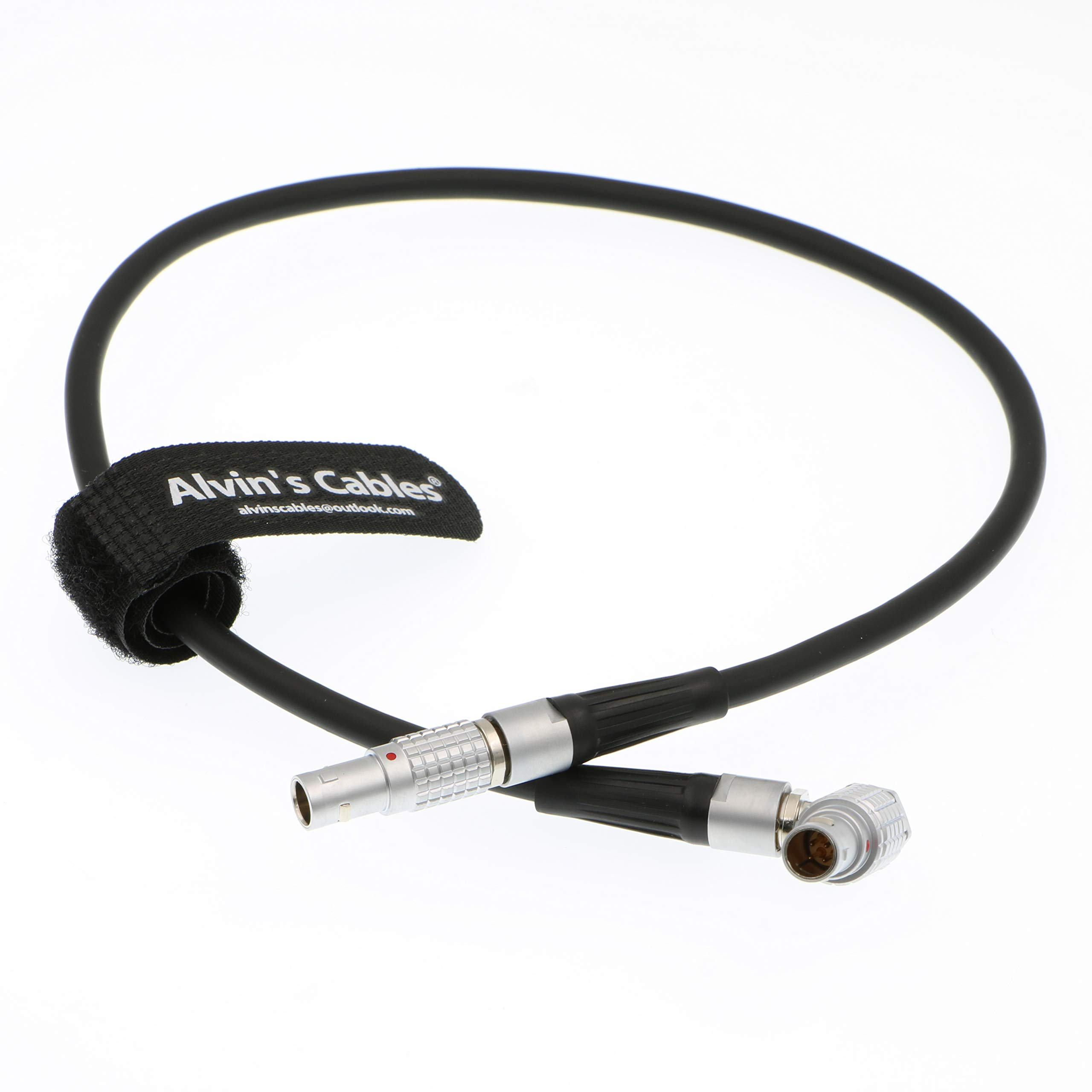 Alvin's Cables RT Motion MK3.1 Motor Cable 4 Pin Right Angle Male to Straight 4 Pin Male Cord