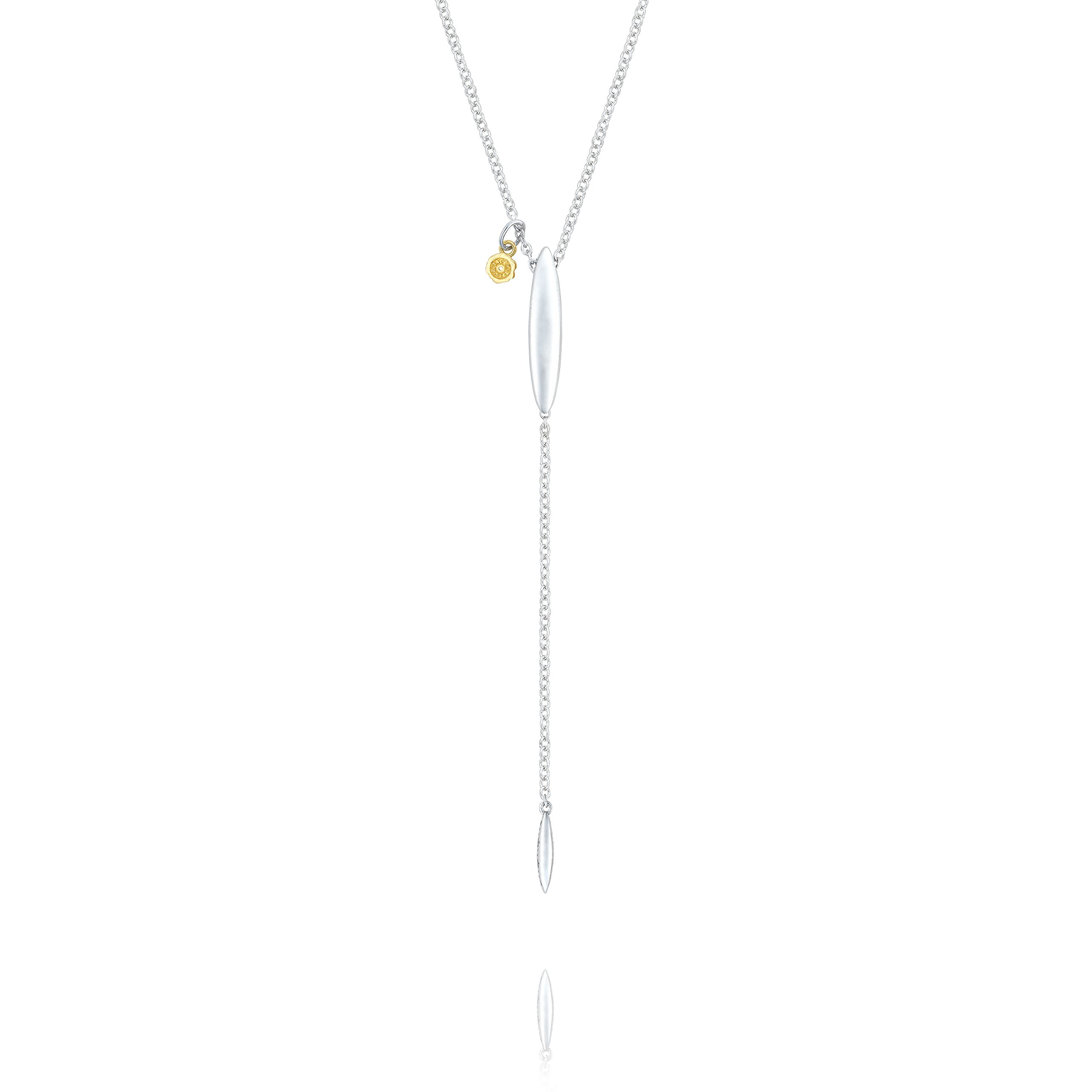 Tacori SN217 Sterling Silver Ivy Lane Surfboard Lariat Necklace