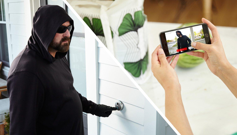 & Amazon.com : SkyBell HD Bronze WiFi Video Doorbell : Camera \u0026 Photo