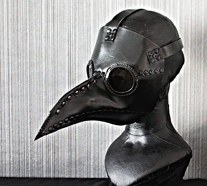 1: 1 pájaro de disfraz de Halloween cosplay prop piel Dr médico de la peste