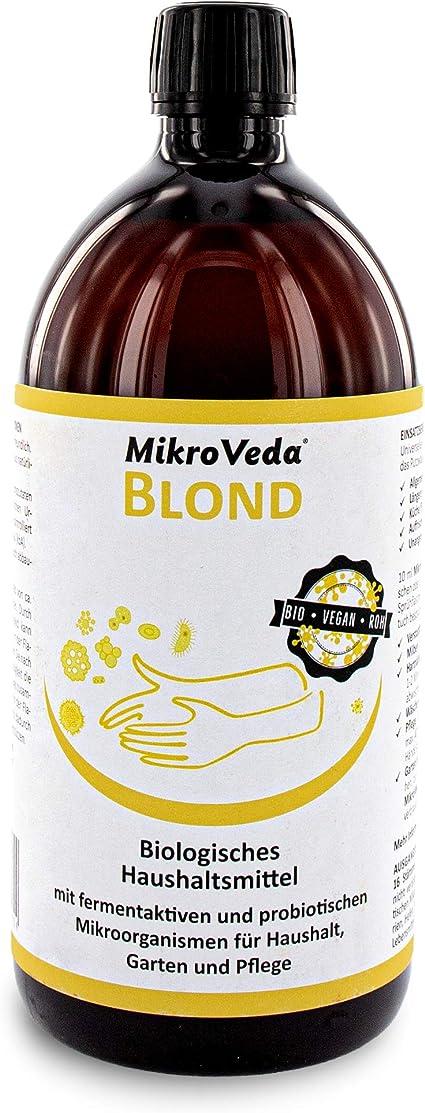 MikroVeda Blond - Producto microbiótico, activador de suelo ...