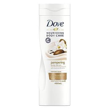 Amazon Com Dove Indulgent Nourishment Body Lotion 400ml Beauty