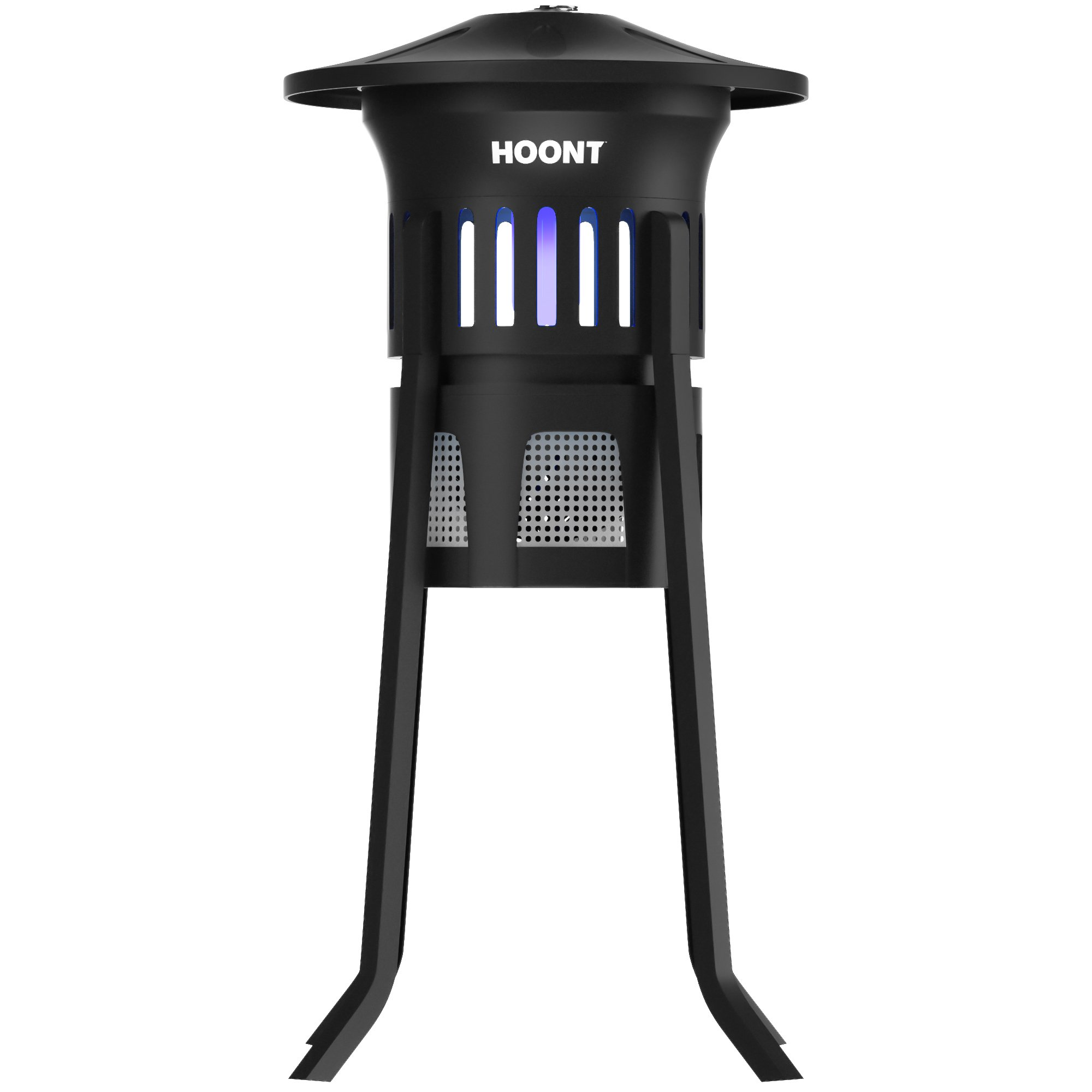 Hoont Mosquito Killer and Gnat Fly Trap Killer, Indoor & Outdoor Mosquito Trap Control with Stand - Bright UV Light and Fan/Exterminate Mosquitoes, Wasps, Etc. – Perfect for Patio, Gardens, etc. by Hoont