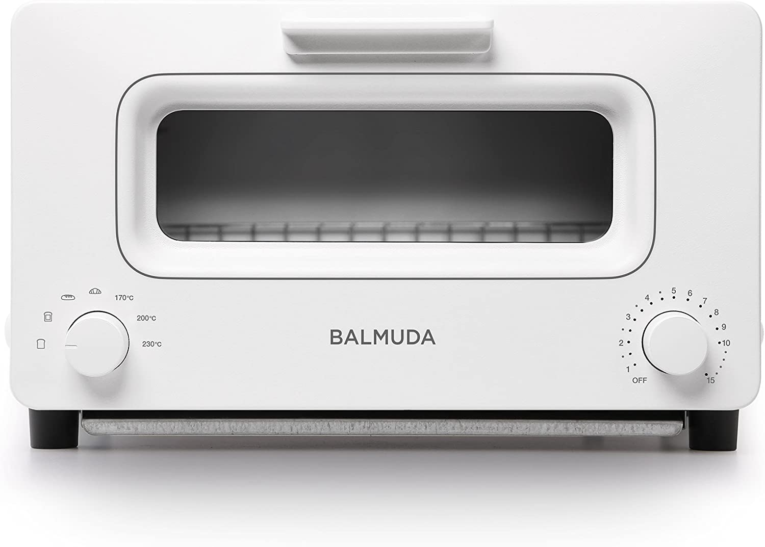 BALMUDA Steam toaster oven BALMUDA The Toaster K01E-WS White Japan Domestic genuine products