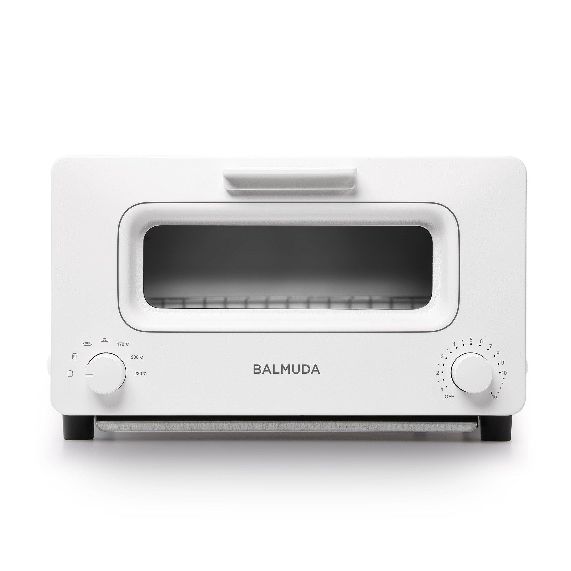 BALMUDA Steam toaster oven ''BALMUDA The Toaster'' K01E-WS (White)【Japan Domestic genuine products】