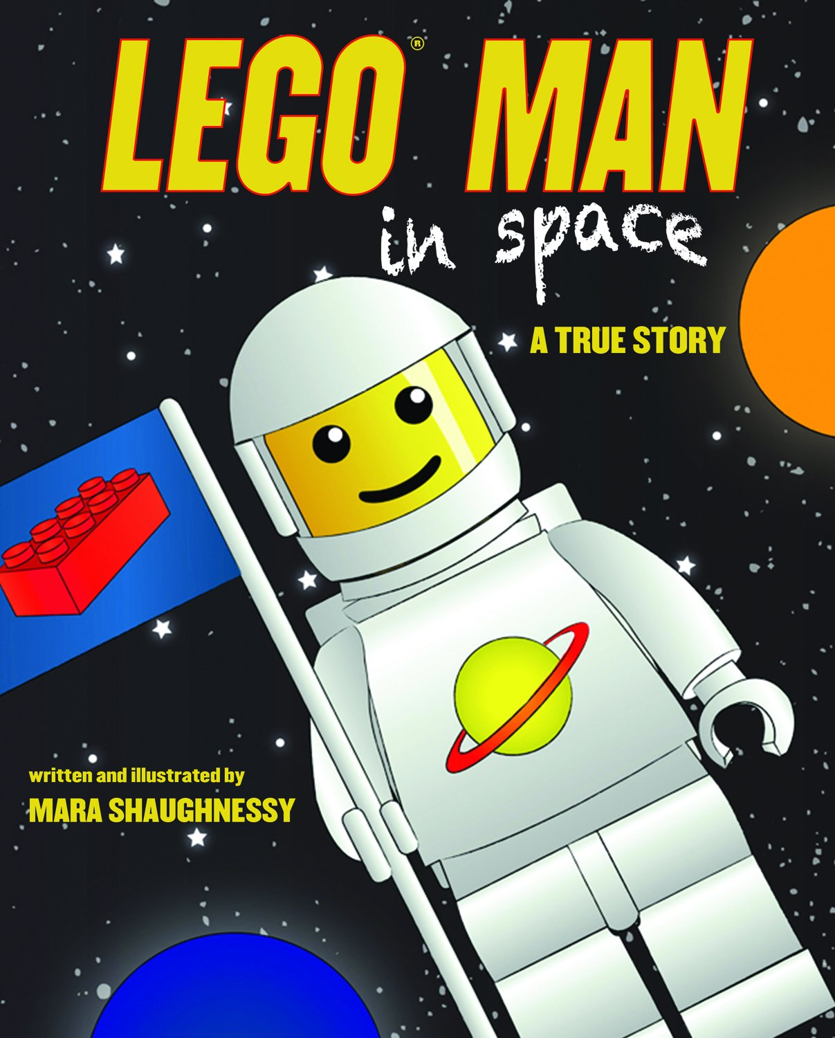 LEGO Man in Space: A True Story by Sky Pony Press (Image #1)