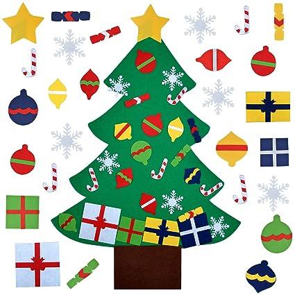 outlet store 75795 fb3ae Fanspack DIY Christmas Tree, Felt Christmas Tree Felt ...