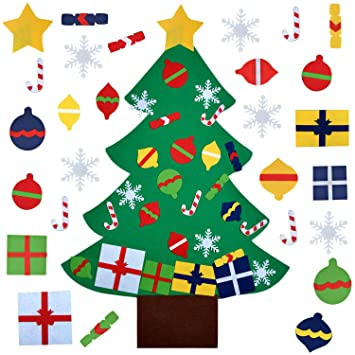 Fanspack Filz Weihnachtsbaum Diy Weihnachtsbaum 32ft Diy