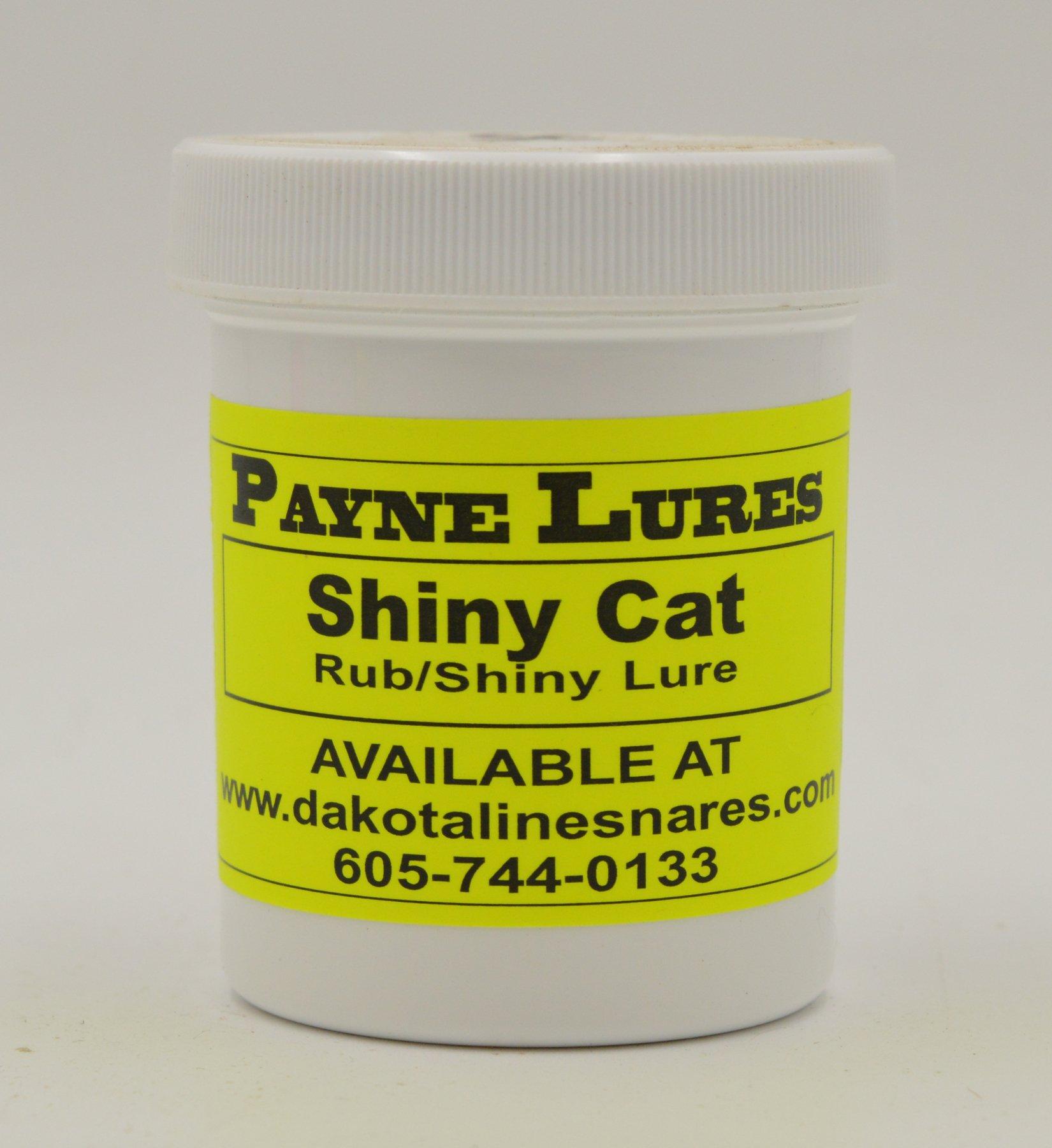 1 - 4 oz. Payne SHINY CAT RUB/Shiny Lure