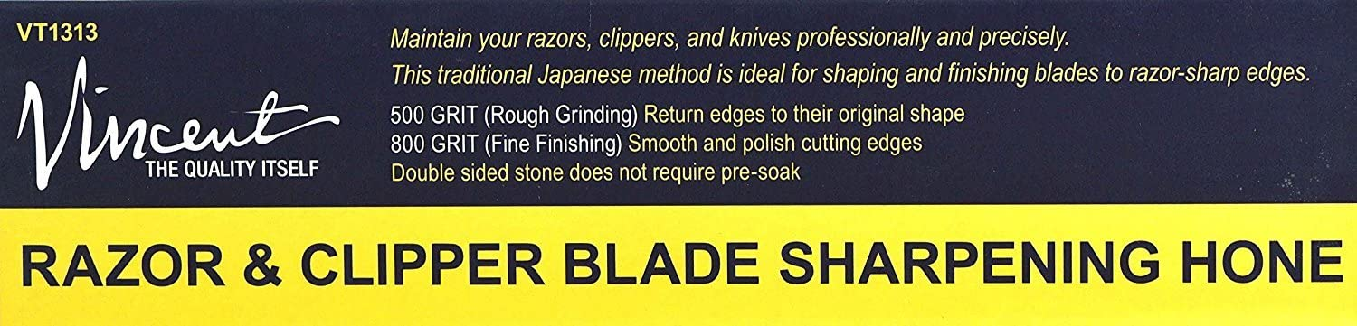 Traditional Japanese Blade Sharpening Whetstone 500//800 Grit Water Only no Oil Needed