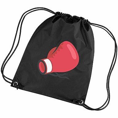emoji boxing glove gym bag black amazon co uk clothing