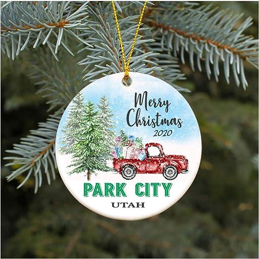 Amazon.com: Christmas Ornament 2020 Park City Utah UT Christmas