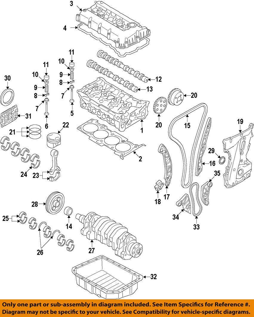 Genuine Hyundai 21510-2G500 Engine Oil Pan Assembly