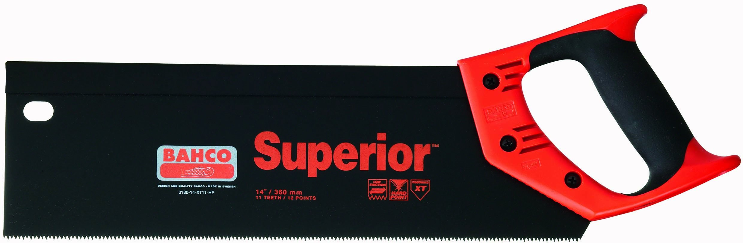 BAHCO 3180-14-XT11-HP 14 Inch Ergo Superior Backsaw with XT Toothing