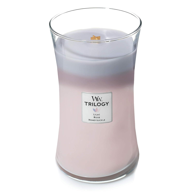WoodWick Trilogy grande bougie jarre parfum/ée avec m/èche Pluswick Jardin botanique