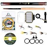 M MAXIMUMCATCH Maxcatch Tenkara Fishing Rod and Combo 9/10/11/12/13ft/Triple Zoom 8'3''/9'6''/10'6'',10'8''/11'10''/12'9…