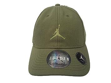 best loved aa2e0 ca3e3 Nike Boy`s Air Jordan Baseball Cap (Palm Green(9A1922-E5B)