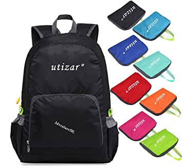8b77b96040ff Utizar Lightweight Folding Backpack Gym Bag Foldable Day Backpack Outdoor  Bag Travelling Backpack Camping Sports Backpack Shopping Ultra-Light ...