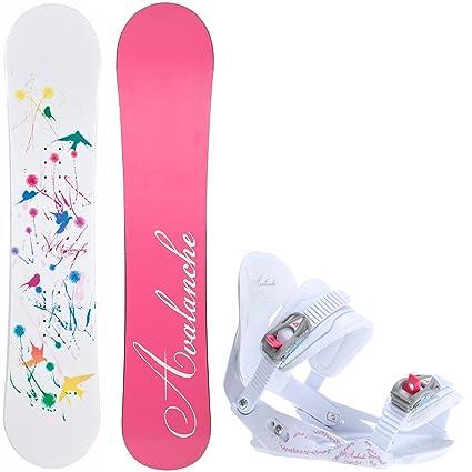 5f5f9a1a964 Amazon.com   Avalanche Divane 140cm Womens Snowboard Serenity ...