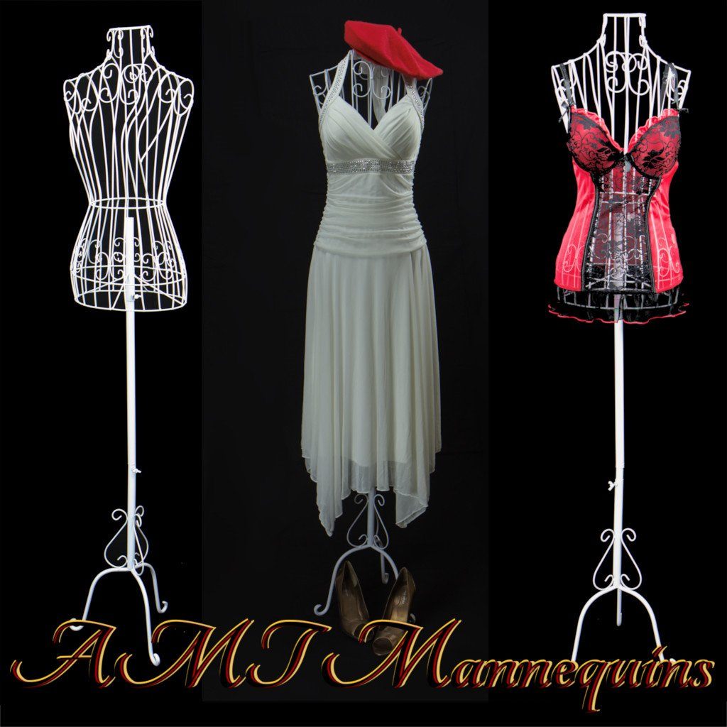 Eurotondisplay FT-9 wire lady Dummy dressmakers mannequin: Amazon.co ...