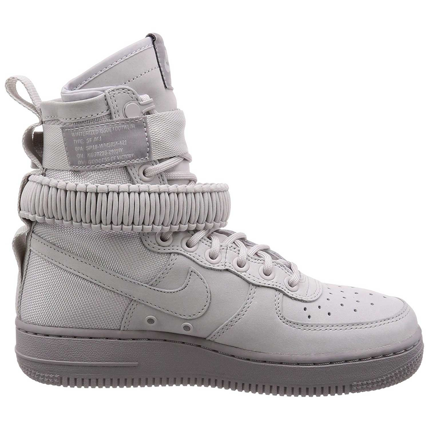 NIKE Women's SF AF1 Casual Shoe B078P3LR2W 8.5 B(M) US|Vast Grey/Atmosphere Grey