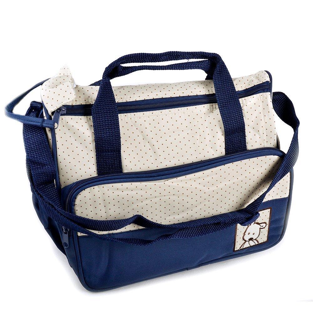 Wickeltasche Pflegetasche Kindertasche Babytasche Tragetasche Handtasche 5 tlg