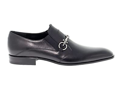 3168b4c7780dd Image Unavailable. Image not available for. Color: Cesare Paciotti Men's  53436Black Black Leather Loafers