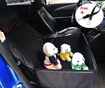 Car Pet Booster Seat Cover For 2pcs Little Puppy Chihuahua Dogs Pydersp 2 In