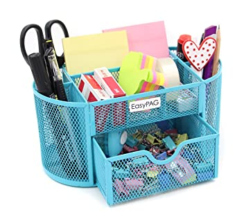 Amazon Com Easypag Mesh Desk Organizer Components Office