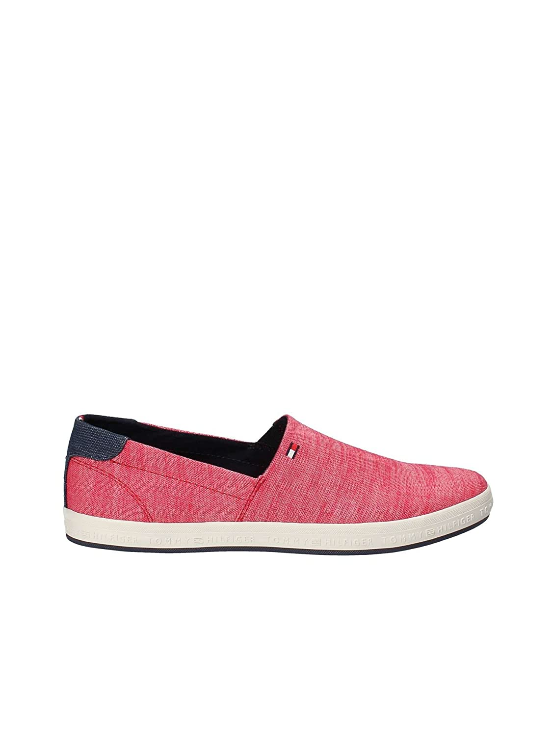 Tommy Hilfiger Zapatillas Zapatillas Slip on Denim 41 EU|Rojo