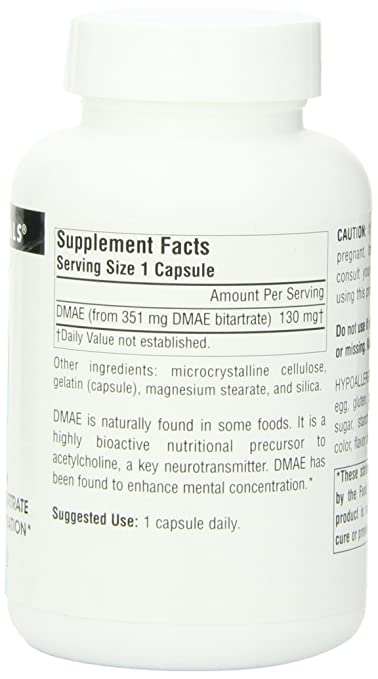 What are the benefits of the DMAE supplement?