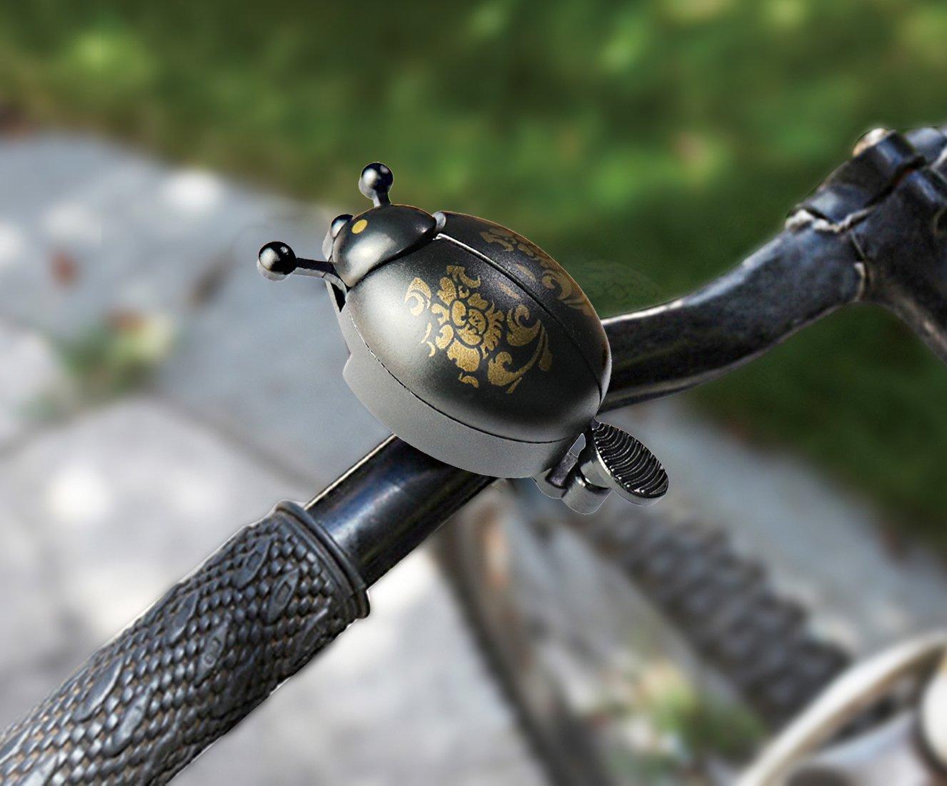 ProHomer Timbre de Bicicleta Ciclismo Bicicleta Bell Timbre Campana para Todas Las Bicis