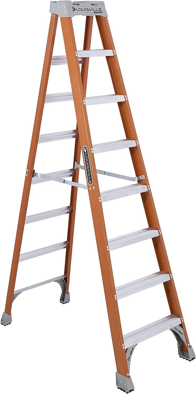 1. Louisville Fiberglass Ladder FS1508