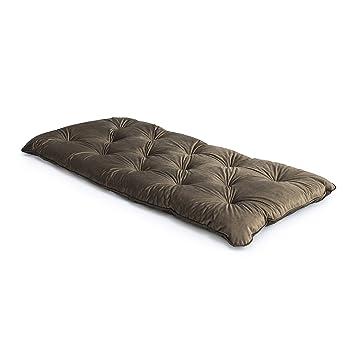 Amazing Loft 25 Velvet Fabric Mushroom Foam Crumb Tufted Single Interior Design Ideas Tzicisoteloinfo