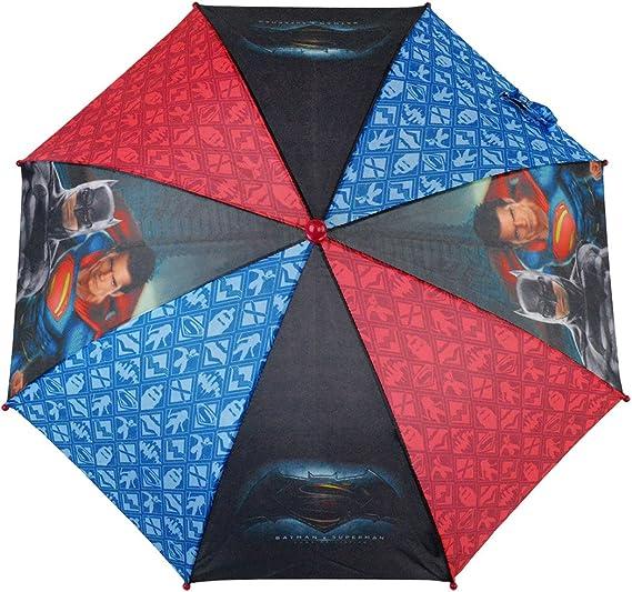 WA16028 Paraguas 57cm para niño con motivo de BATMAN VS SUPERMAN ...