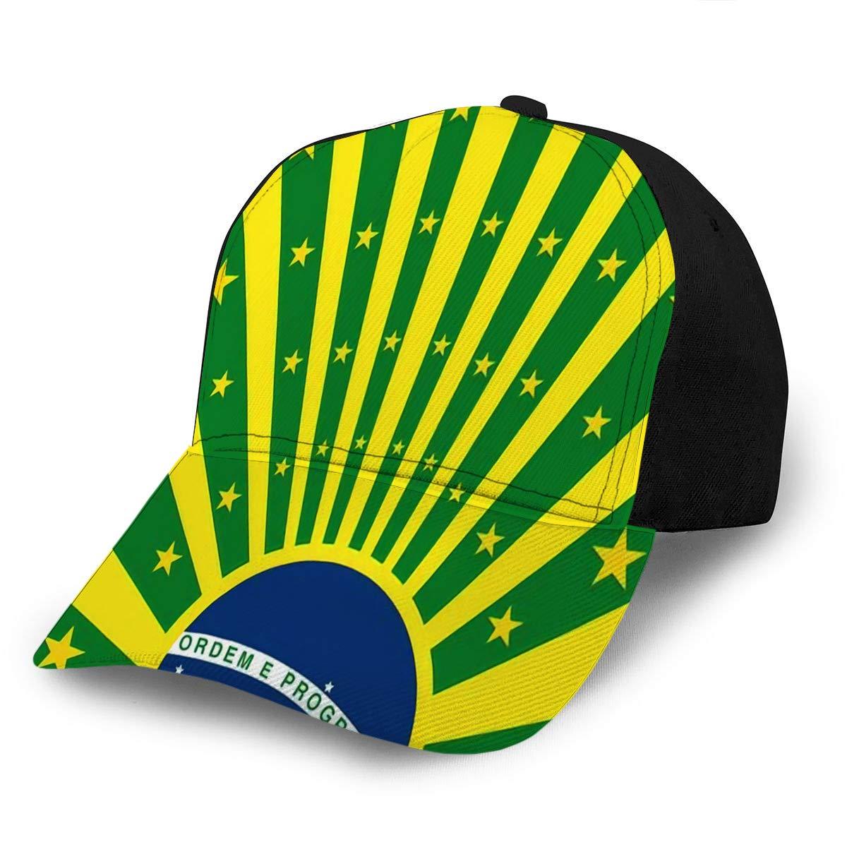 Baseball Cap Hats Adjustable Vintage Square Brazilian Stars for Your Advertisin