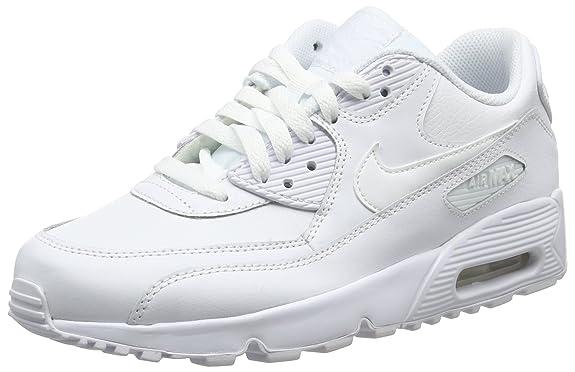 NIKE AIR MAX 90 ltr (GS) scarpe unisex, bianco EUR 86,10
