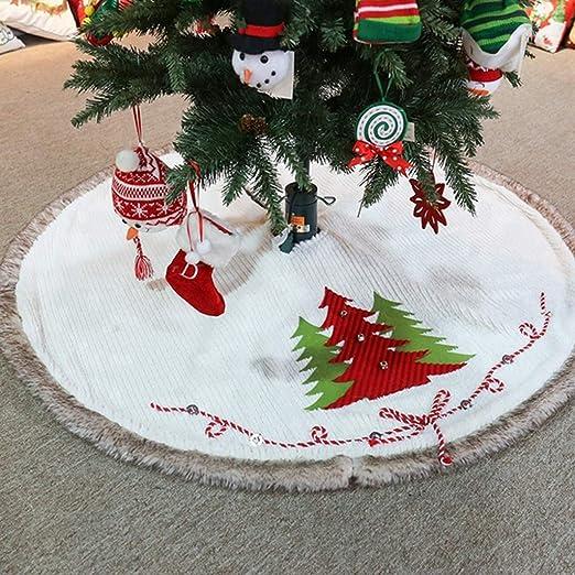 Manyo. Cache Pie Árbol de Navidad, Falda de árbol de Navidad ...