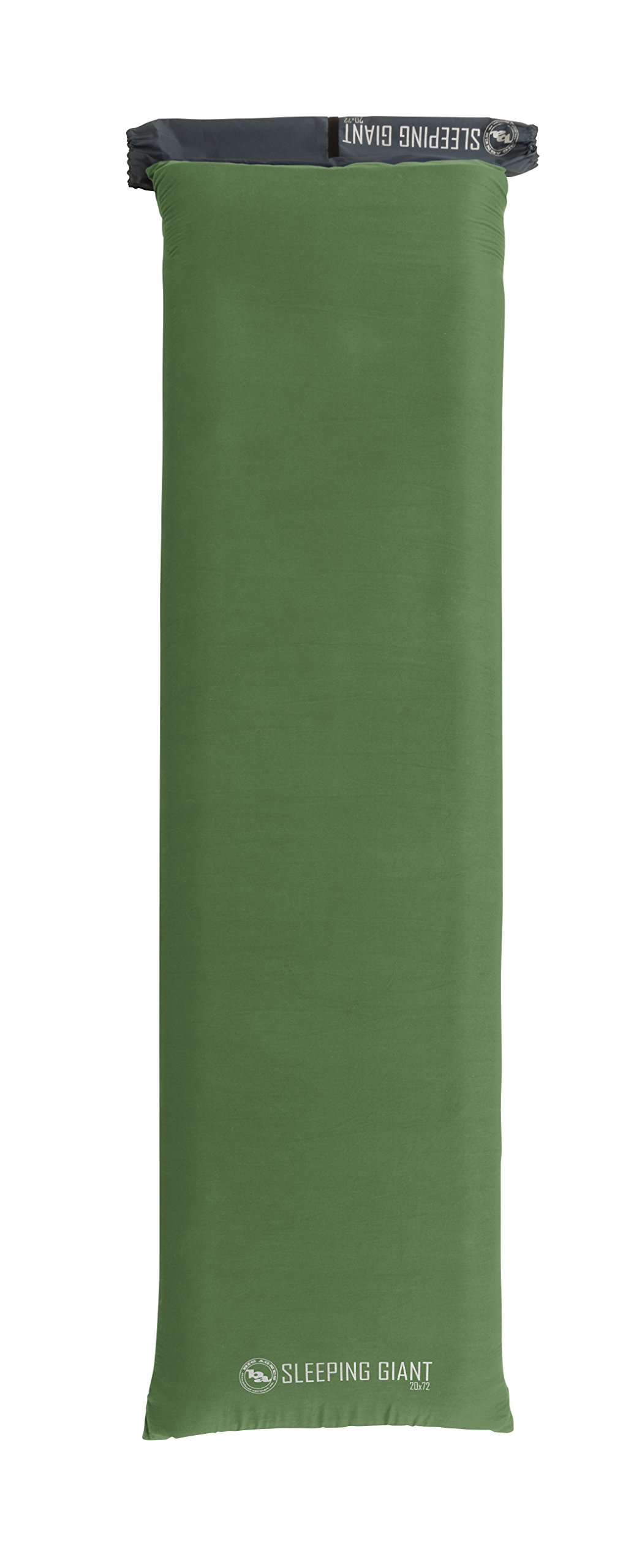 Big Agnes Sleeping Giant Memory Foam Pad Cover, Green/Blue, 25x72 Wide Regular by Big Agnes